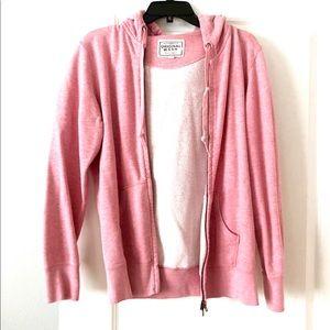 Other - Men's Vintage red pink zip up hoodie sweater